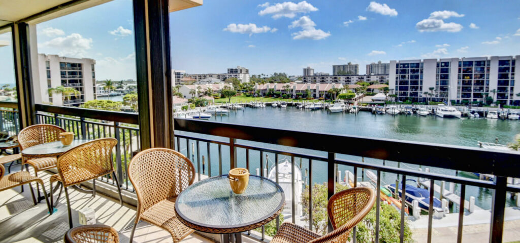 The view from one of our condos for sale in Boca Raton, FL