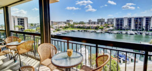 A POV of a balcony view at one of our Boca Raton condos.