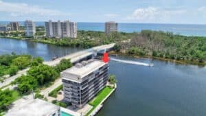 Boca Raton Real Estate waterfront view
