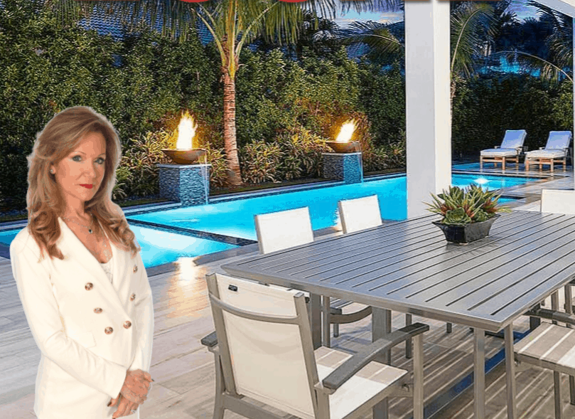 Top South Florida realtor Stephanie Kaufman presenting a luxury property.